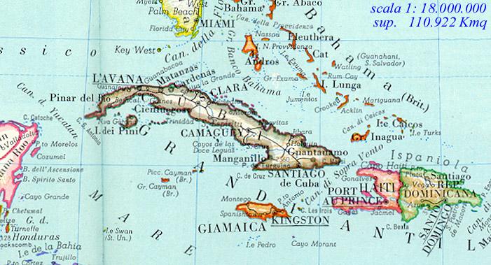 Cartina Muta Cuba.Quando Si Aprono Pagine Web